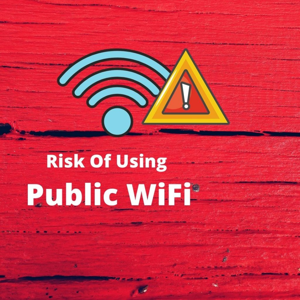 Why is it risky to use public wifi?